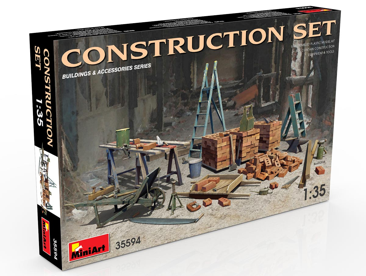 New Photos of Kit: 35594 CONSTRUCTION SET