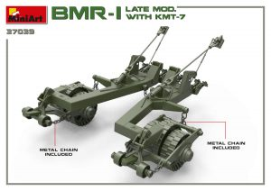 3D renders 37039 BMR-1 LATE MOD. WITH KMT-7