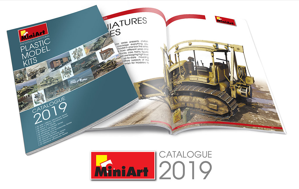 55019 MiniArt Catalogue 2019