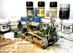 35184 U.S. ARMY TRACTOR w/ANGLED DOZER BLADE + Роман Богачев (Roman Bogachev)