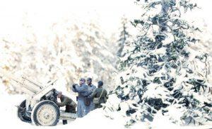 35185 SOVIET HEAVY ARTILLERY CREW + Victor Novikov
