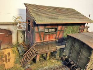35554 GOODS SHED + 35535 FARM ENTRANCE WITH WALL + 35530 STREET ACCESSORIES + 35541a TELEGRAPH POLES + Denis Pozdnyakov