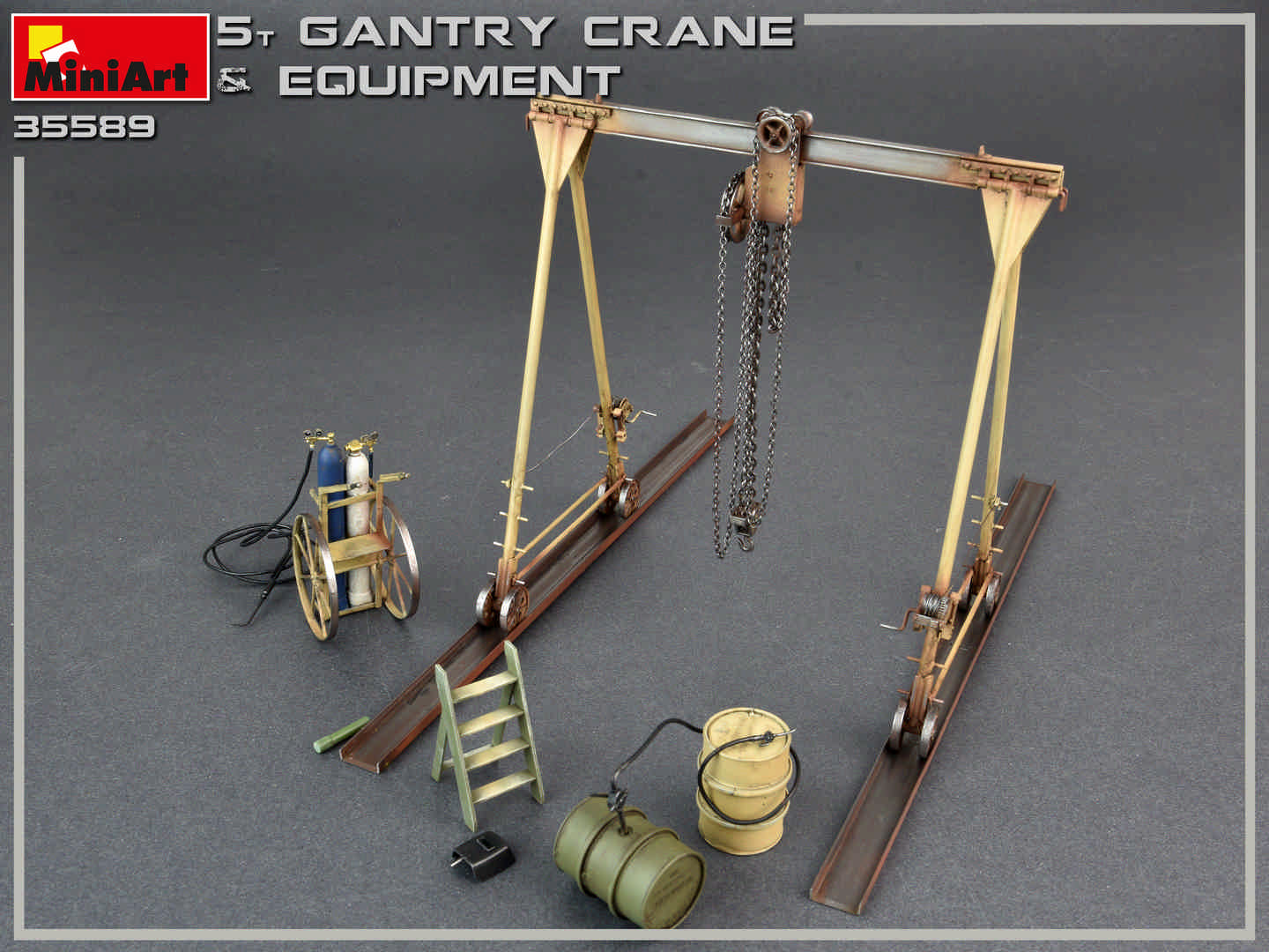 Miniart 35589 5 Ton Gantry Crane Amp Equipment