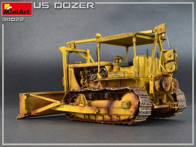 38022 アメリカ軍ブルドーザー
