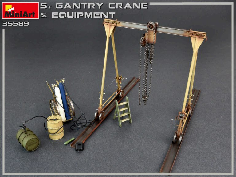 35589 5 TON GANTRY CRANE & EQUIPMENT