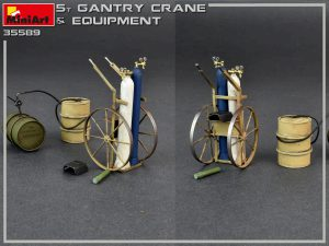 Photos 35589 5 TON GANTRY CRANE & EQUIPMENT