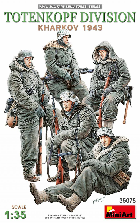 35075 TOTENKOPF DIVISION ( KHARKOV 1943 )