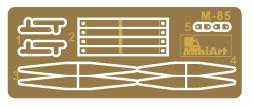 Content box 35303 Sowjetischer Eisenbahn Flachbettwagon 16,5-18t