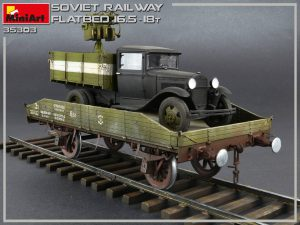 Photos 35303 SOVIET RAILWAY FLATBED 16,5-18t