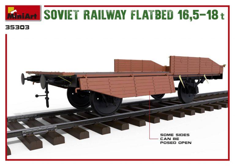 35303 Железнодорожная Платформа 16,5-18т.