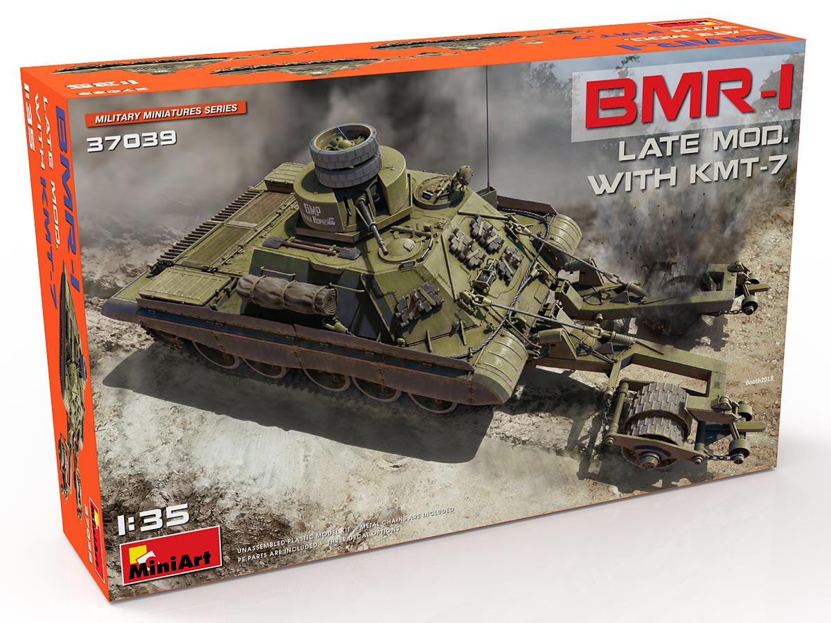 New Photos of Kit: 37039 BMR-1 LATE MOD. WITH KMT-7