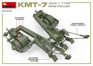 3D renders 37070 KMT-7初期型地雷除去装置(マインローラー)