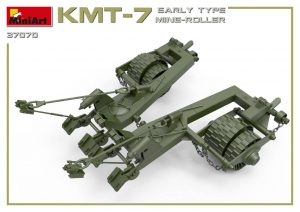 3D renders 37070 KMT-7 EARLY TYPE MINE-ROLLER