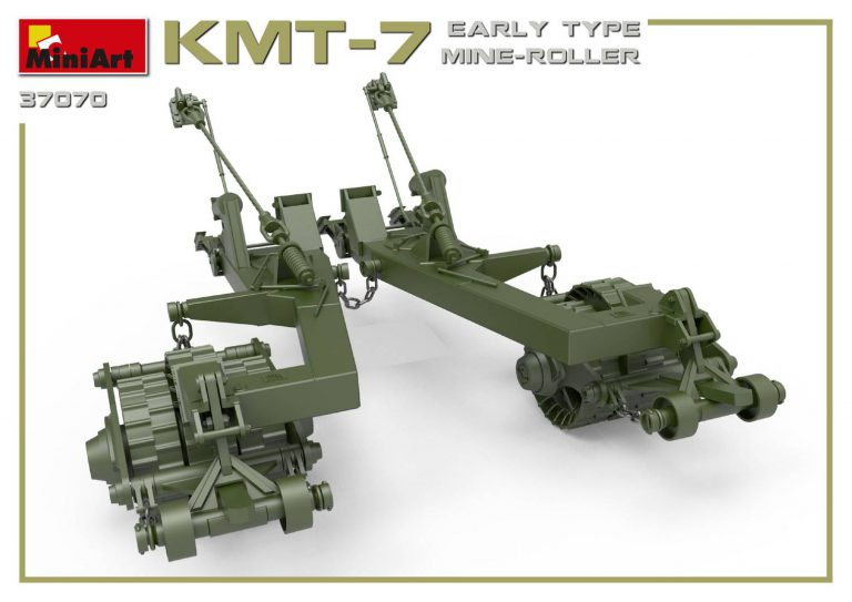 37070 KMT-7 EARLY TYPE MINE-ROLLER