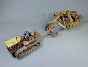 35225 U.S. TRACTOR w/Towing Winch & Crewmen + Михаил Уколов (Mikhail Ukolov)