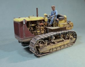 35225 U.S. TRACTOR w/Towing Winch & Crewmen + Михаил Уколов (Mikhail Ukolov)
