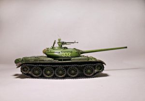 37004 T-54-2 Mod. 1949 SOVIET MEDIUM TANK. INTERIOR KIT