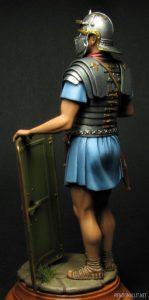 16007 ROMAN LEGIONARY II CENTURY A.D. + Tomi Mynttinen
