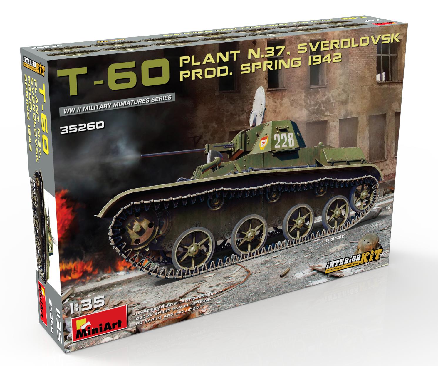 New Photos of Kit: 35260 T-60 PLANT N.37, SVERDLOVSK PROD. SPRING 1942. INTERIOR KIT