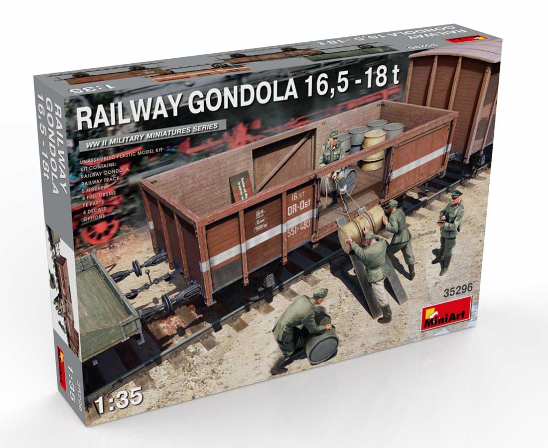 New Photos of Kit: 35296 RAILWAY GONDOLA 16,5-18t