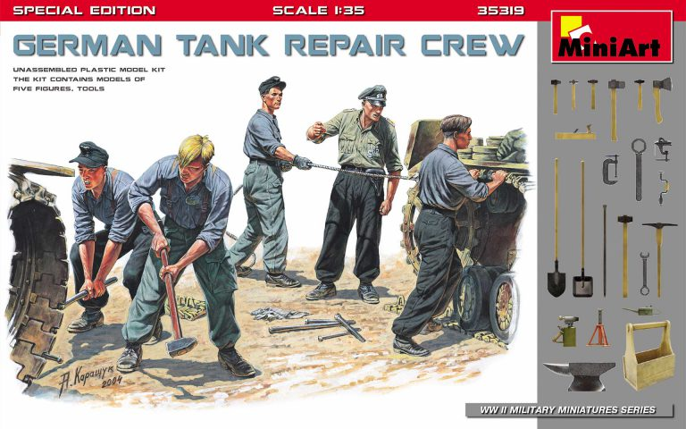 GERMAN TANK REPAIR CREW. SPECIAL EDITION