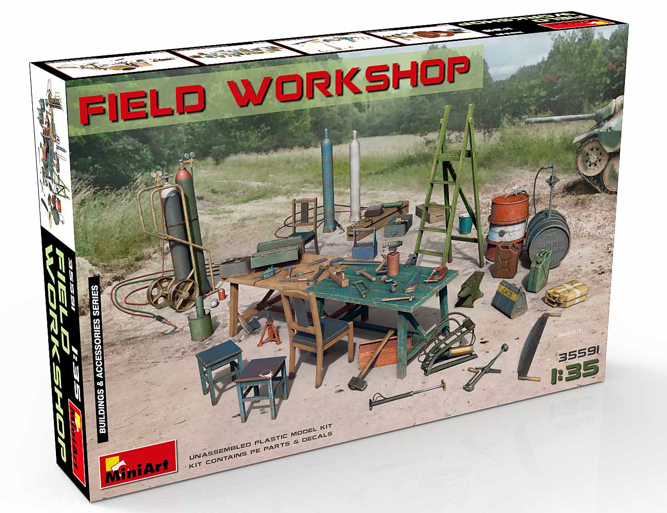 New Photos of Kit: 35591 FIELD WORKSHOP