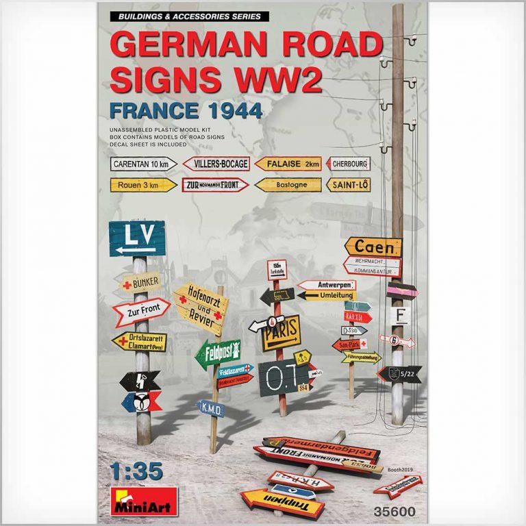 ドイツ道路標識WW2 フランス1994