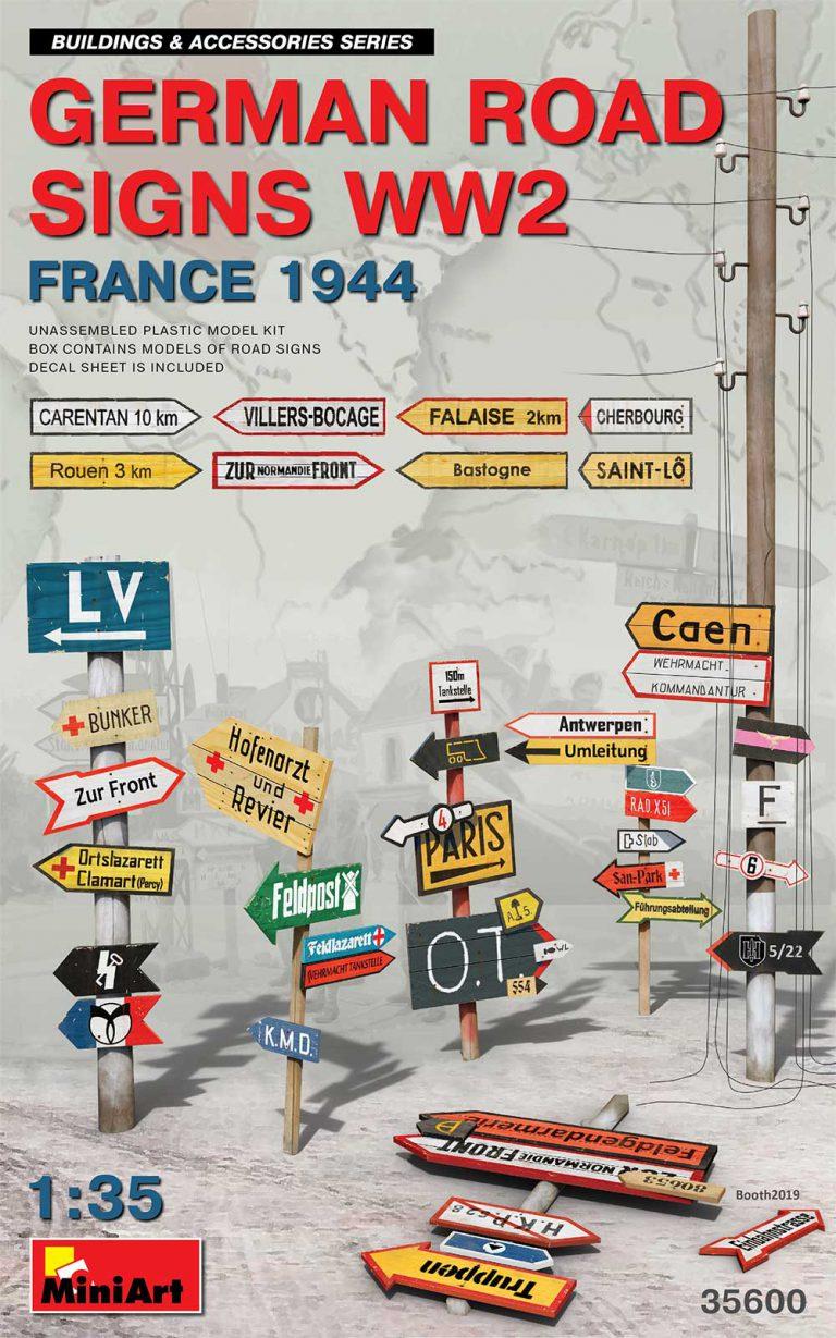 35600 二战德国路标(法国1944)
