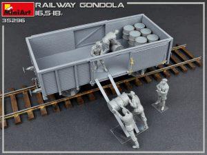 Build up 35296 ゴンドラ貨車16.5-18t