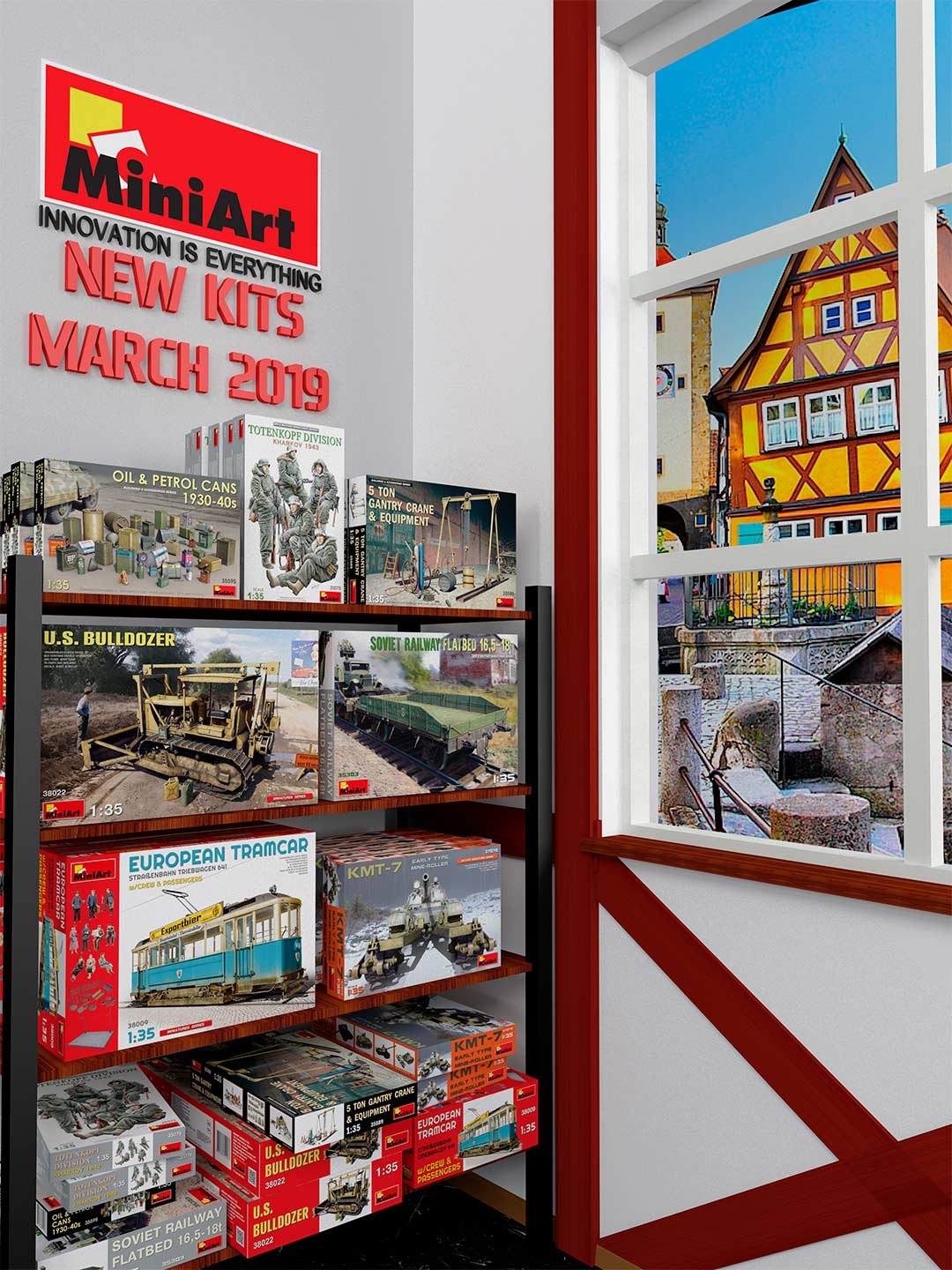 New MiniArt's Kits Available March 2019
