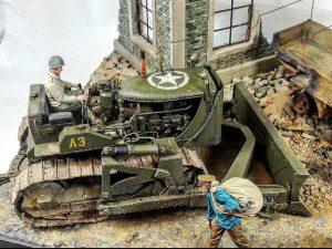 35195 U.S. ARMY BULLDOZER + Fabrice Hocq
