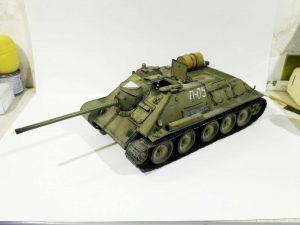 35204 SU-85 SOVIET SELF-PROPELLED GUN Mod. 1944 EARLY PRODUCTION. INTERIOR KIT + Artem Prokhvatilov (Артем Прохватилов)