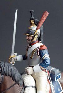 16015 FRENCH CUIRASSIER NAPOLEONIC WARS +