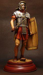 16005 ROMAN LEGIONARY I CENTURY A.D. + Dmitry Solovyov (Дмитрий Соловьёв)