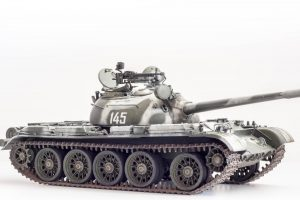 37011 T-54B SOVIET MEDIUM TANK. EARLY PRODUCTION. INTERIOR KIT + Boris Rakic