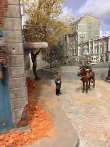 36013 CROSS-ROADS DIORAMA BASE + 35584 EAST EUROPEAN HOME STUFF + Roberto Scibilia Modellismo