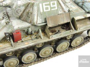35025 T-70M EARLY PRODUCTION SOVIET LIGHT TANK w/CREW + Murat Özgül