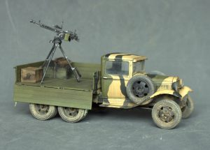 35136 GAZ-AAA Mod. 1940. CARGO TRUCK + Alexander Fomin (Александр Фомин)