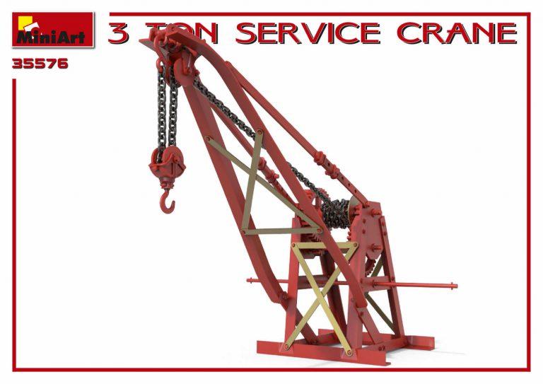 35576 3 TON SERVICE CRANE