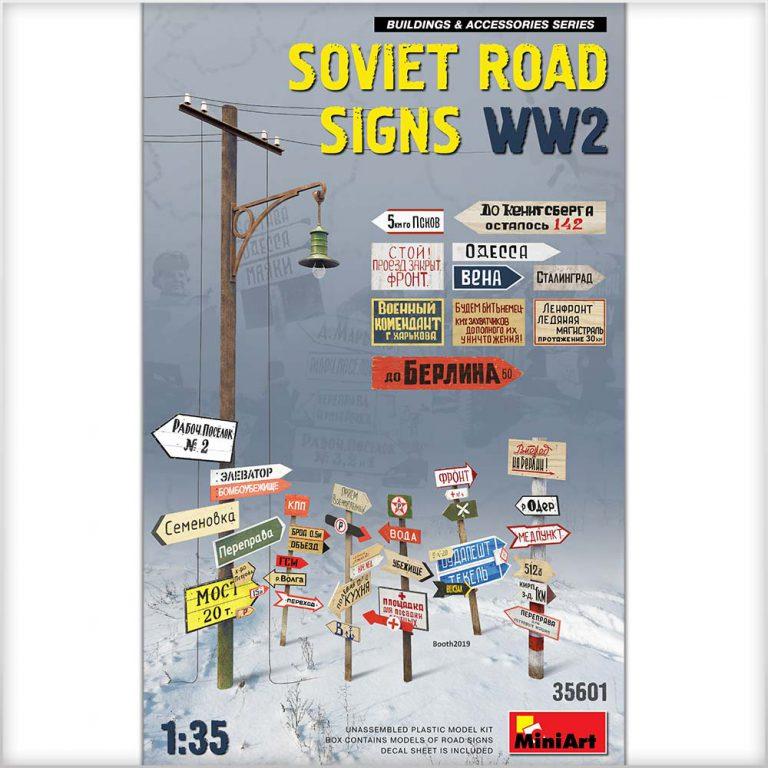 SOVIET ROAD SIGNS WW2