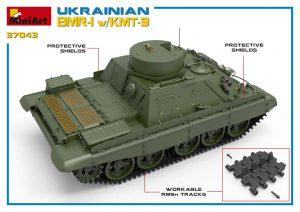 3D renders 37043 UKRAINISCHER BMR-1 w/KMT-9