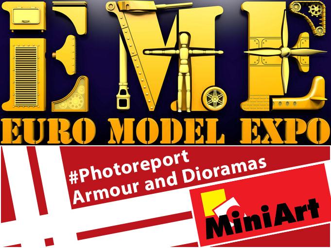 EME Lingen 2019: Armour and Dioramas