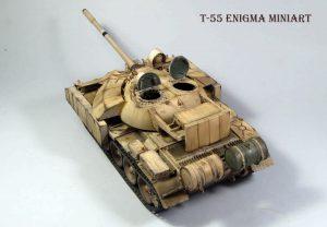 37018 T-55 Mod. 1963 INTERIOR KIT + Olexander Lystopad
