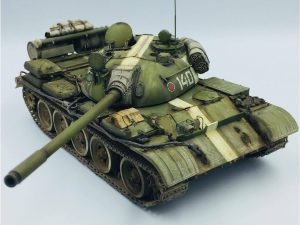 37018 T-55 Mod. 1963 INTERIOR KIT + 38006 GERMAN SITTING CIVILIANS '30s-'40s + 35530 STREET ACCESSORIES + Peter Robinson