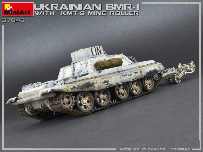 37043 UKRAINISCHER BMR-1 w/KMT-9