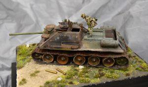 35187 SU-85 SOVIET SELF-PROPELLED GUN. INTERIOR KIT + Nicola Greco