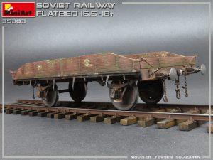 35303 SOVIET RAILWAY FLATBED 16,5-18t