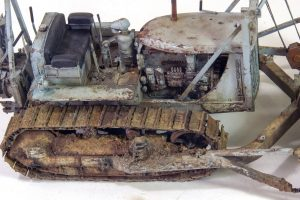 35184 U.S. ARMY TRACTOR w/ANGLED DOZER BLADE + KoHi Tran