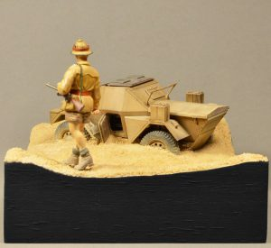 35087 SCOUT CAR DINGO Mk.1a w/CREW + Philipp Gross