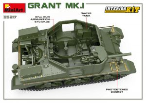 3D renders 35217 GRANT Mk.I INTERIOR KIT